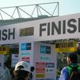 東京マラソン2011 finish