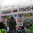 東京マラソン2012フィニッシュゲート
