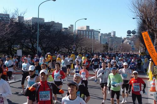 東京マラソン 2008