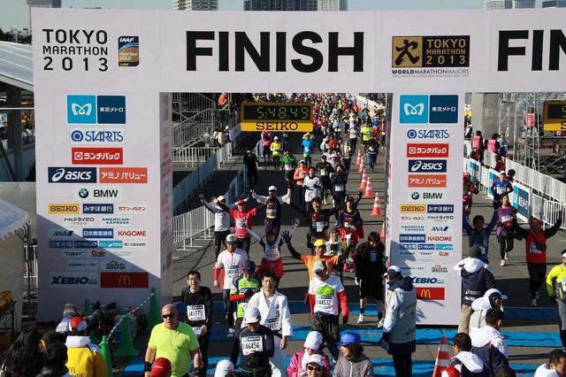 東京マラソン2013 Finish