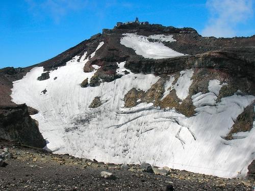 富士山噴火口