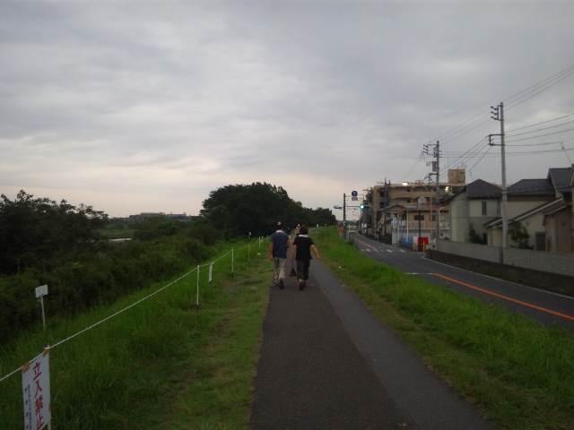 雨の朝ラン