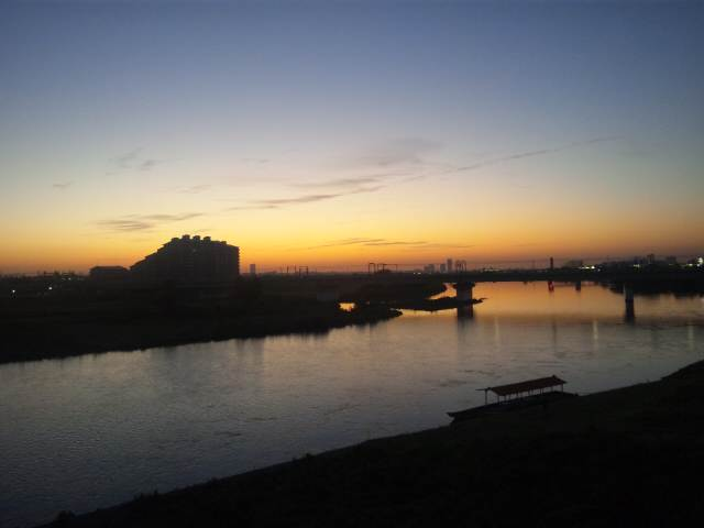 多摩川大橋なぅ♪
