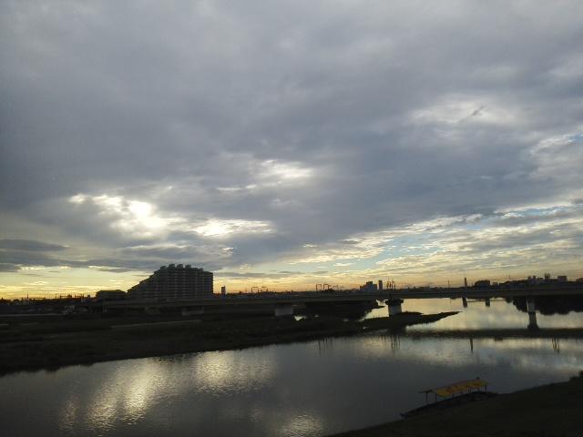 多摩川大橋から
