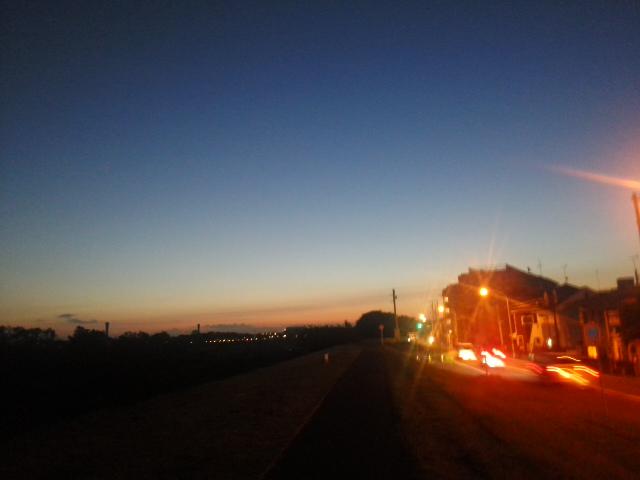 そろそろ日の出